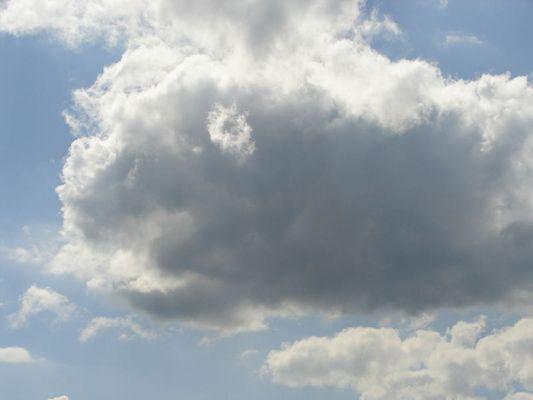 Wolken haben doch Augen
