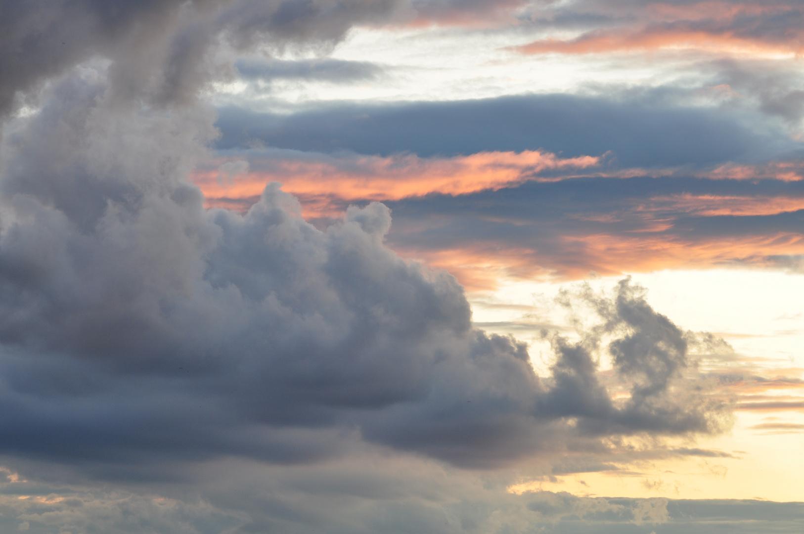 Wolken im Aufbruch