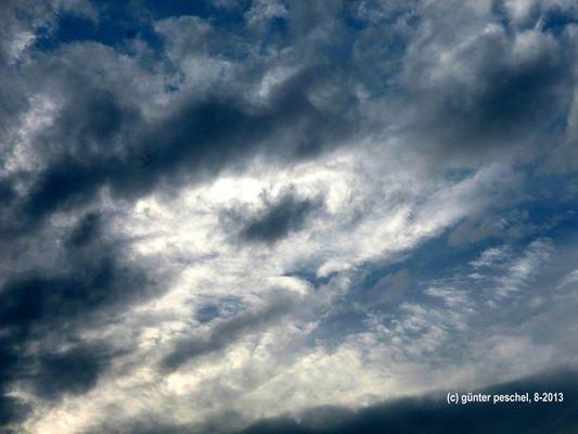 Wolken im August