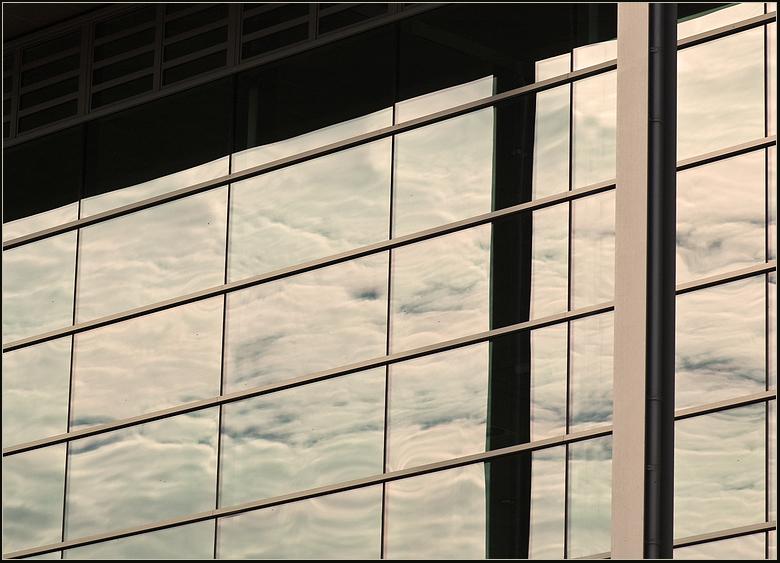 Wolken im Glas