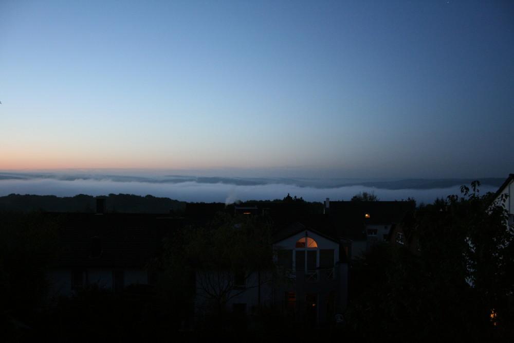 Wolken im Ruhrtal