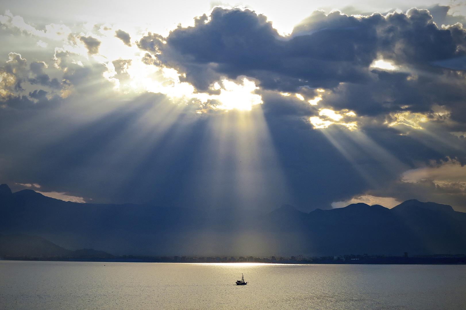 Wolken in Antalya