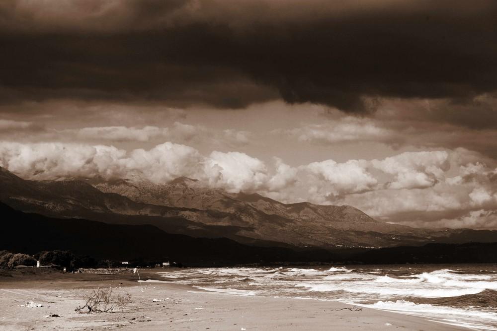 Wolken in greece 4