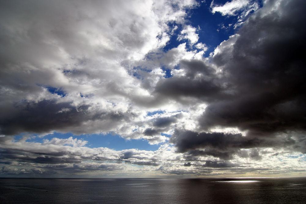Wolken in ihrer ganzen Pracht
