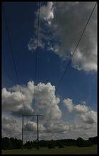 Wolken in Schweden
