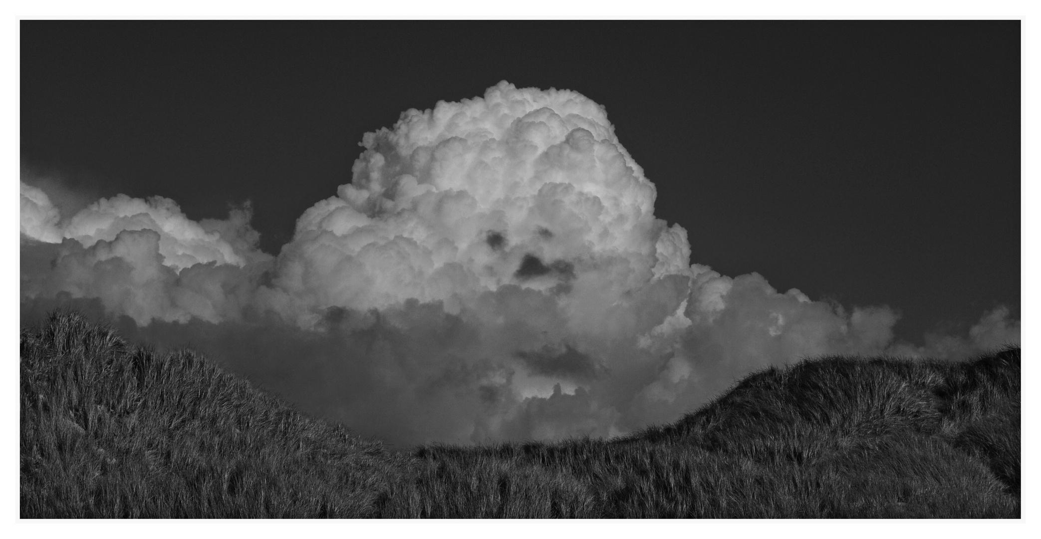 Wolken in s/w ..