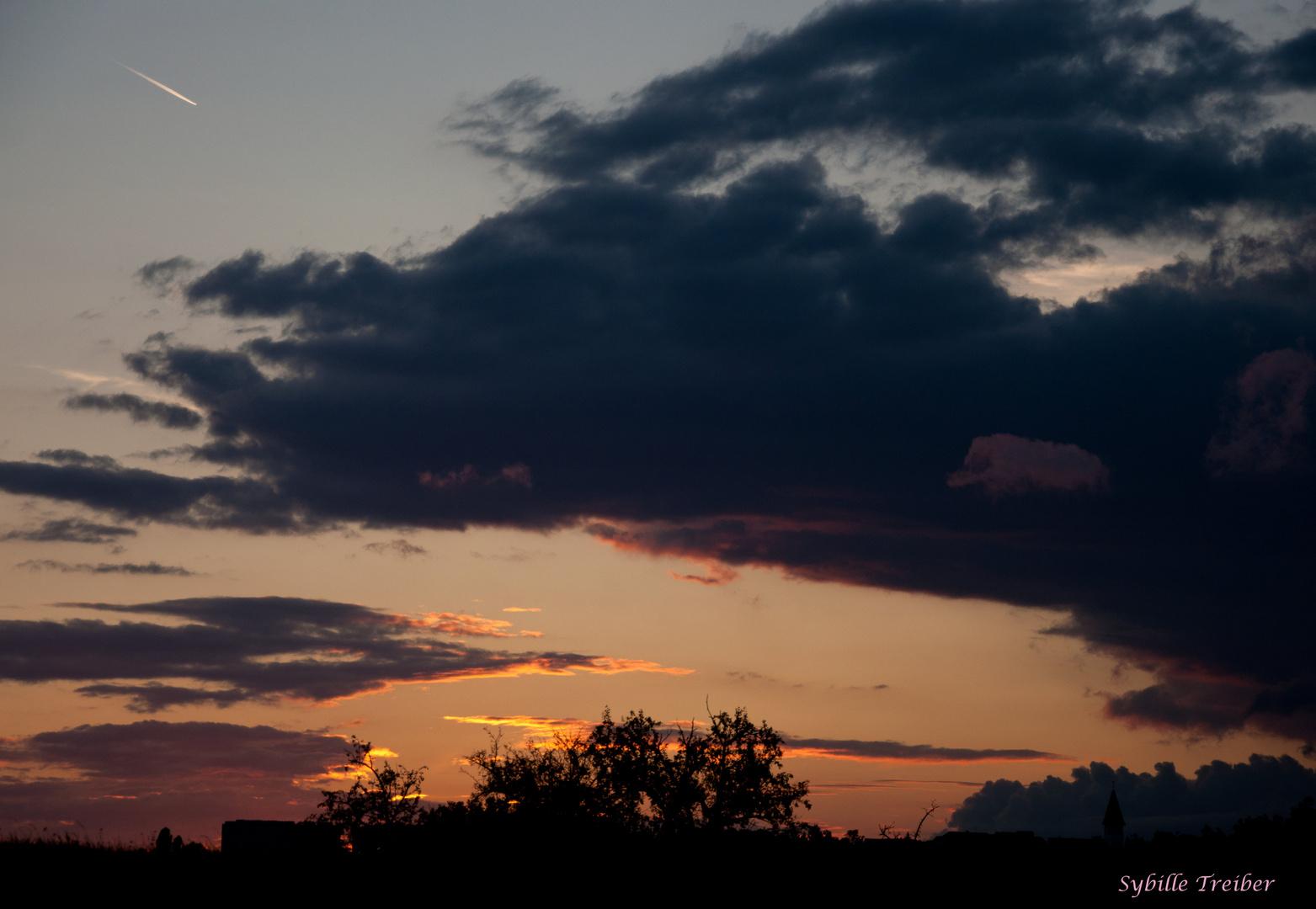 Wolken können so schön sein