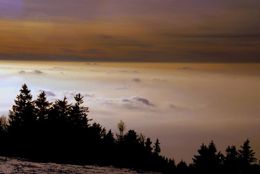 Wolken Kraftwerke II