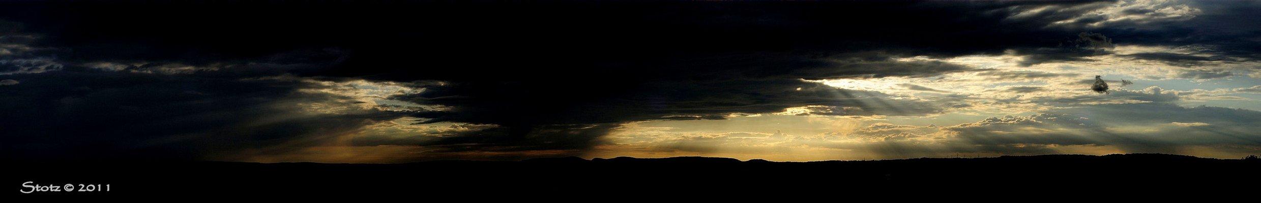 Wolken- landschaft....