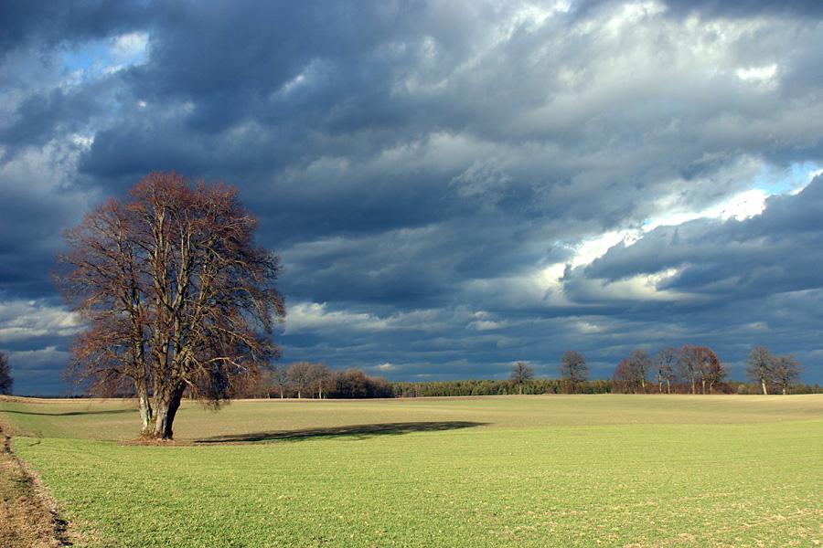 Wolken, Licht und Weite