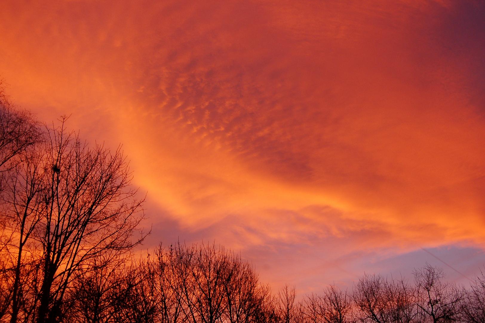Wolken oder Chemtrails, ist hier die Frage
