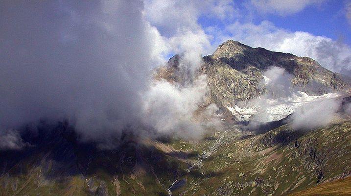 Wolken pur