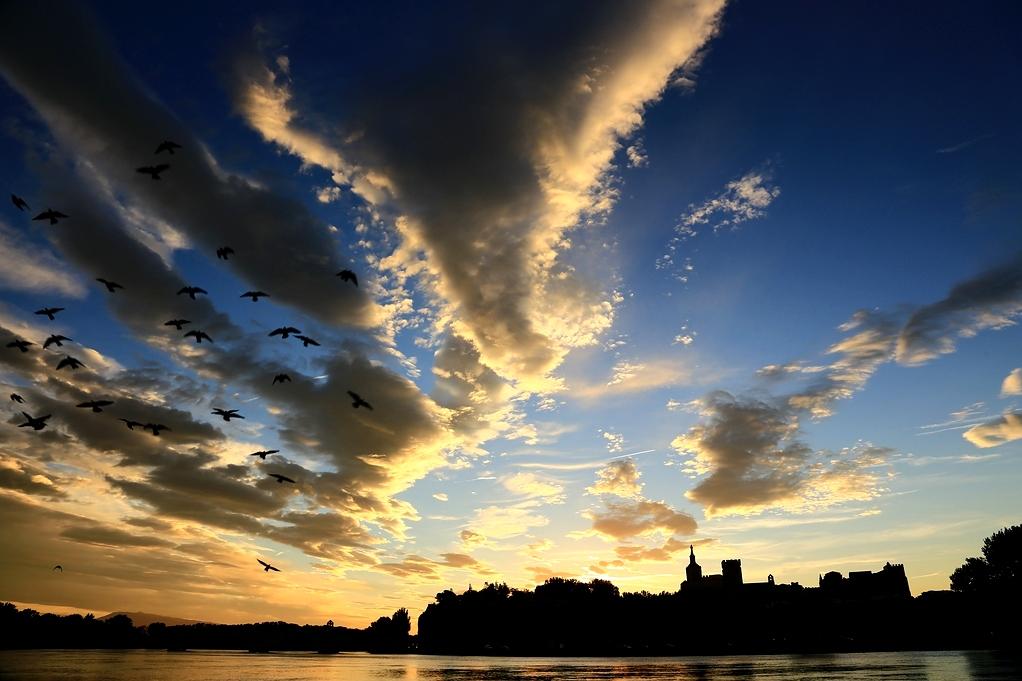 Wolken-Schwarm