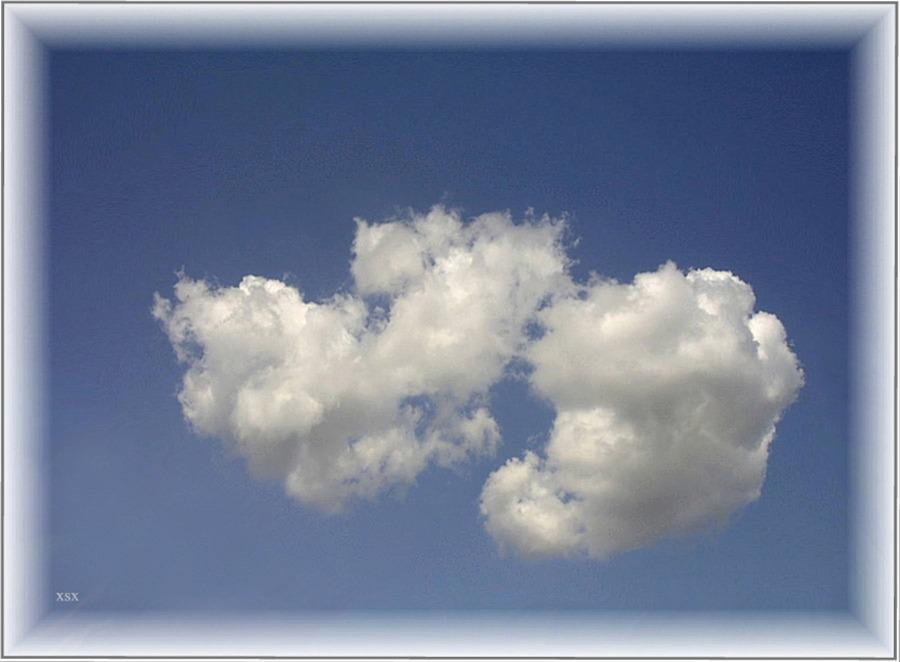 Wolken sind Gedanken