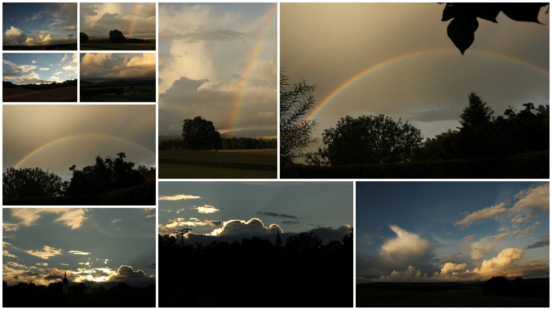 Wolken, Sonne.....Impressionen aus Oberfranken