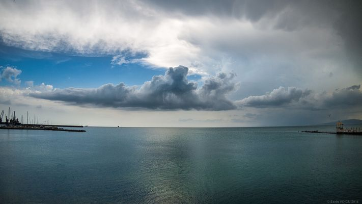Wolken über Balchik