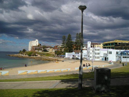 Wolken ueber Cronulla, NSW, Australia
