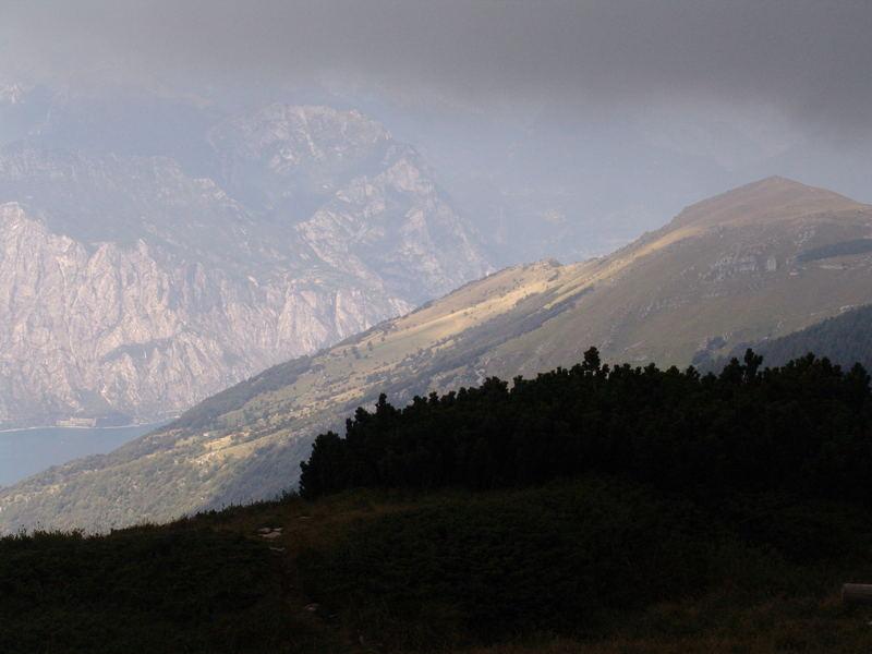 Wolken über dem Gardasee