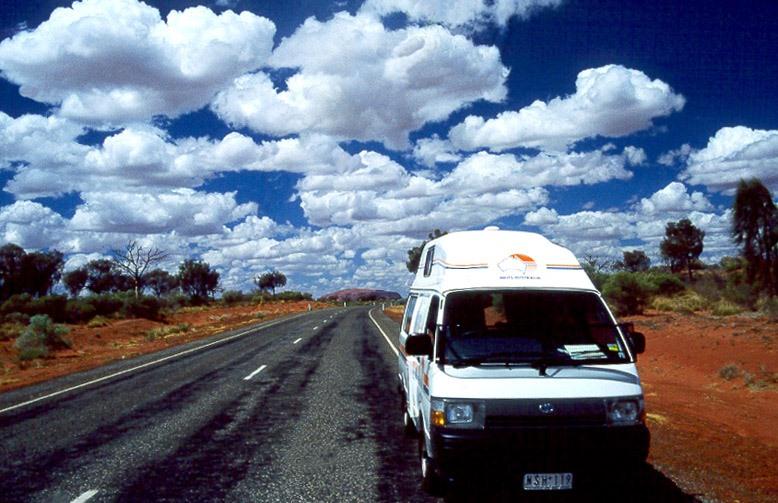 Wolken über dem Outback