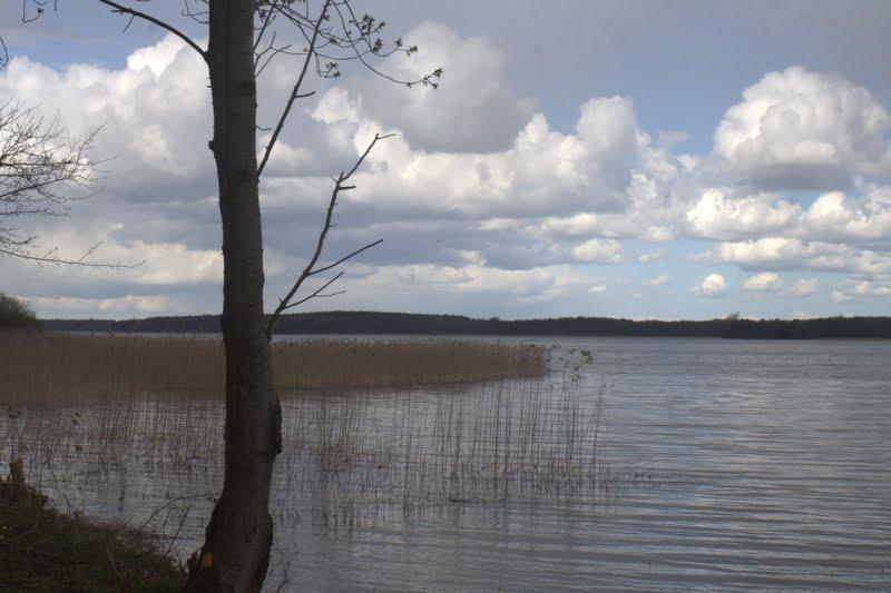 Wolken über dem Schaalsee