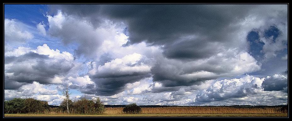 Wolken über dem Starnberger See