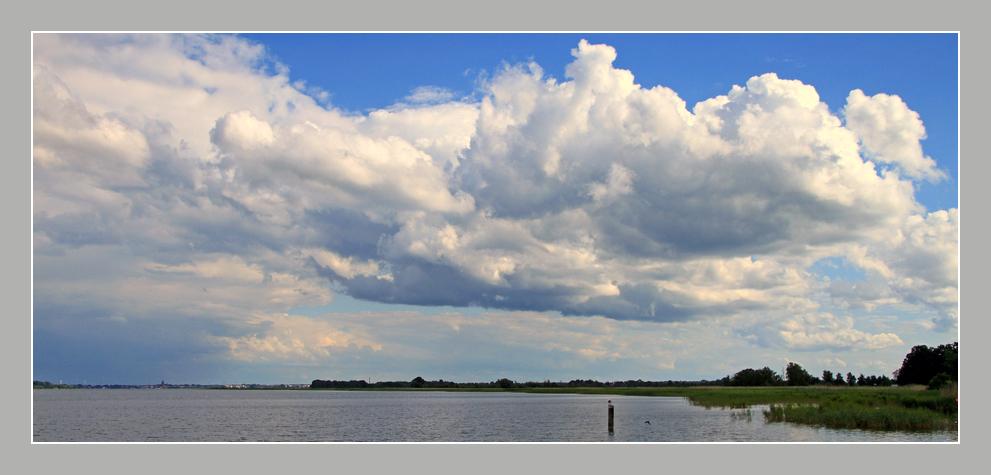 Wolken über Fischland
