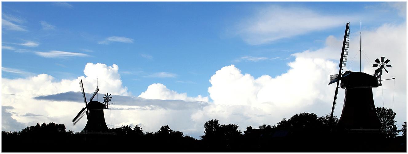 Wolken über Greetsiel