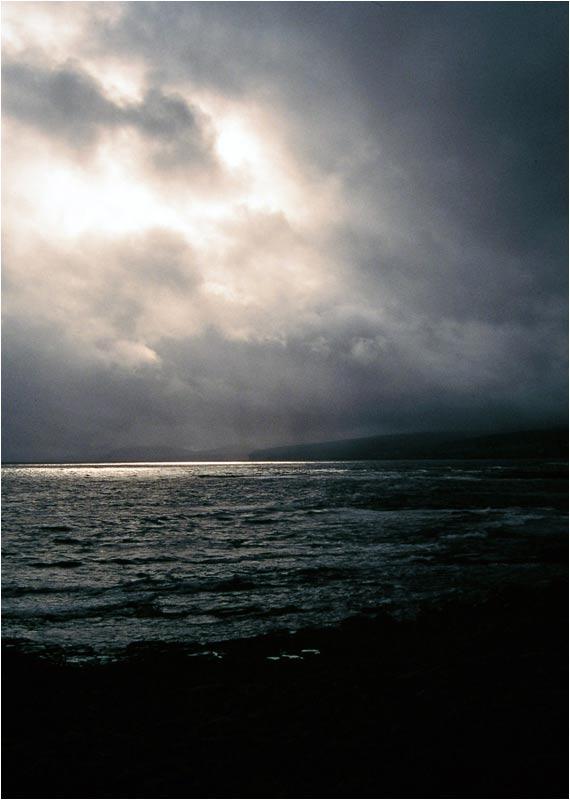 Wolken über Irlands Nordwestküste