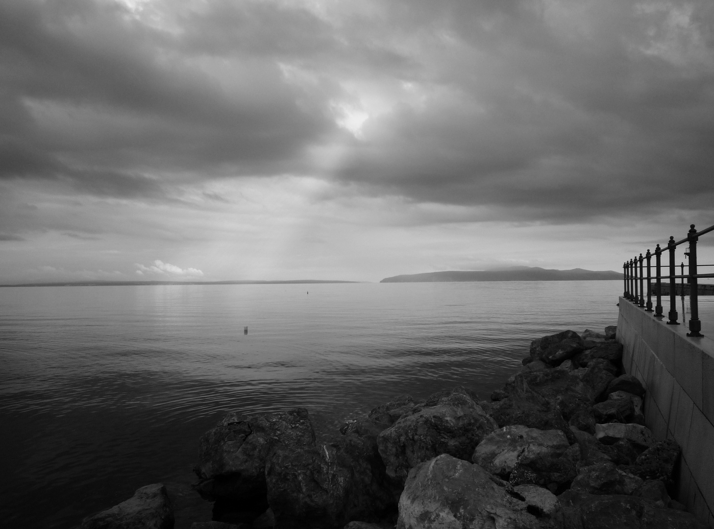 Wolken über Kroatien