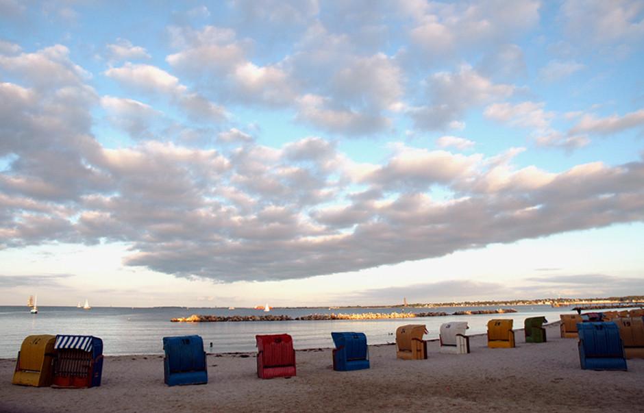 Wolken über `m Schilkseer Strand