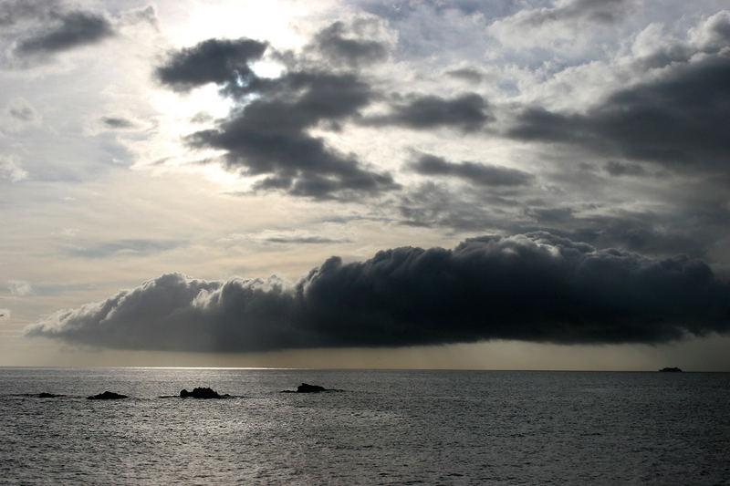 Wolken über Madeira