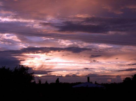 Wolken über Magdeburg