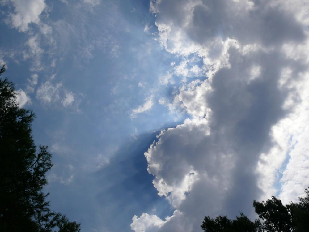 Wolken über Mala Duba