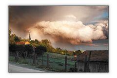 Wolken über Nöham