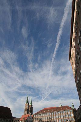 Wolken über Nürnberg