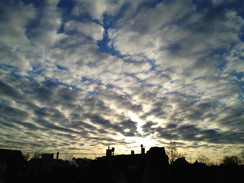 Wolken über Osna