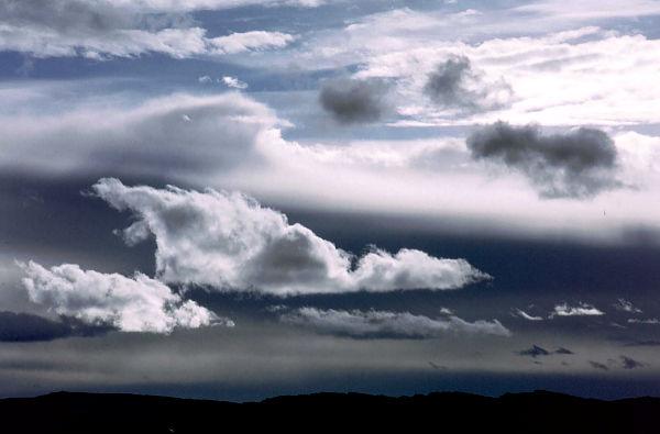 Wolken über Rondane