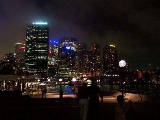 Wolken über Sydney