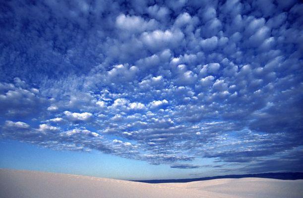 Wolken über White Sands, zweite Version