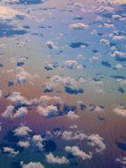 Wolken überm Deich