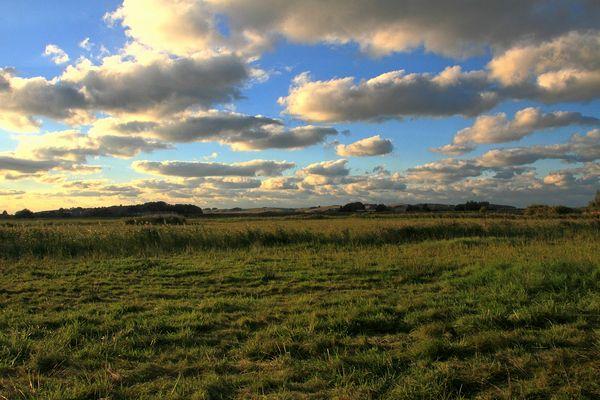 Wolken über'm Zickerland....