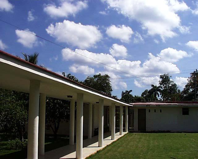 Wolken und Säulen