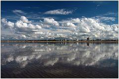 Wolken und Watt...