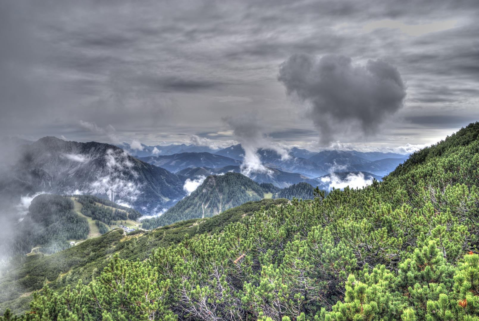 Wolken-Wanderung