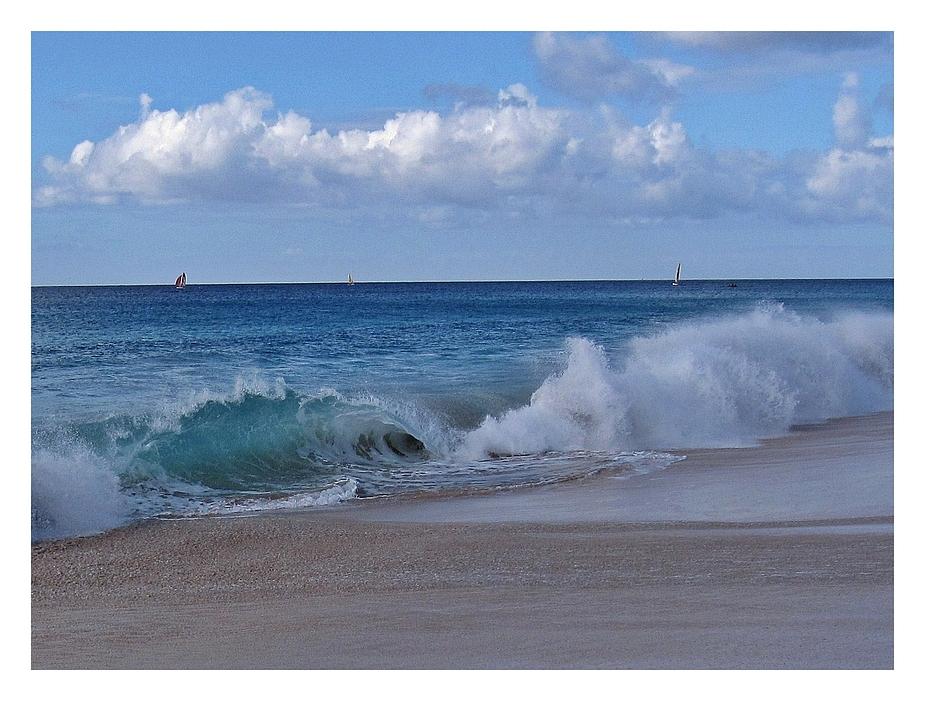 Wolken-Wasser-Wellen