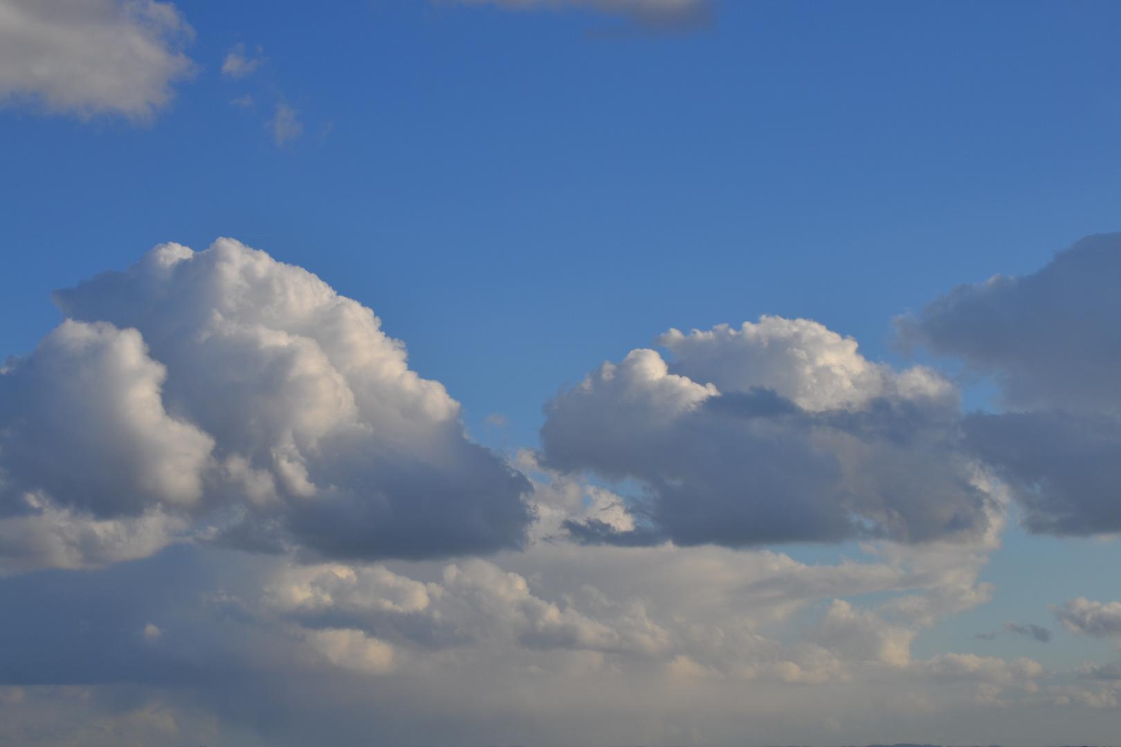 wolken wie gemalt foto bild himmel wolken himmel universum bilder auf fotocommunity. Black Bedroom Furniture Sets. Home Design Ideas