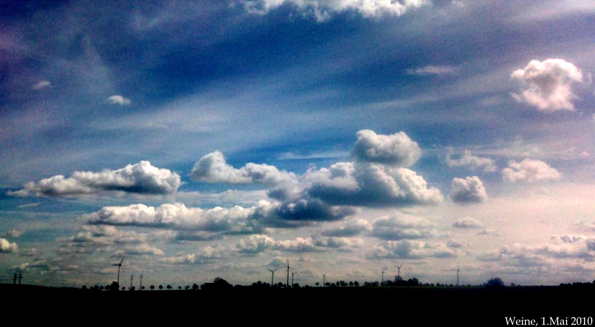 wolken wie gemalt foto bild anf ngerecke nachgefragt nachgefragt landschaft natur. Black Bedroom Furniture Sets. Home Design Ideas