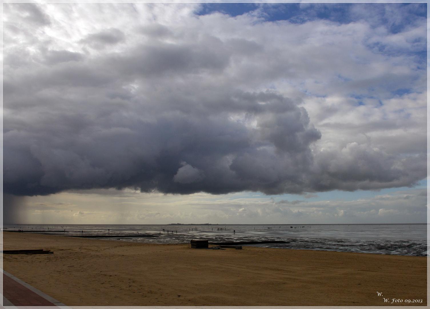 Wolken ziehen auf