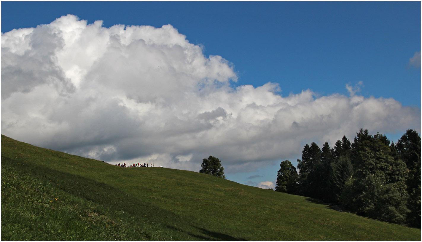 Wolken zum Anfassen ...