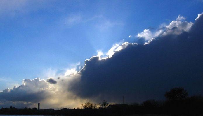 Wolkenaufbruch